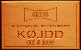 OMISS Plaque